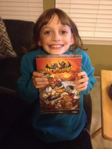 Brynna with IncrediBrawl!